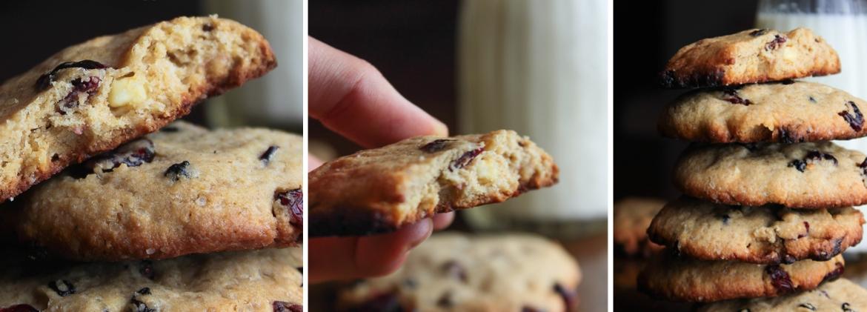 Cookies di orzo e avena