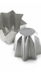 Stampo pandoro alluminio 750 g