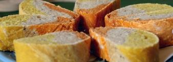 Three colours bread