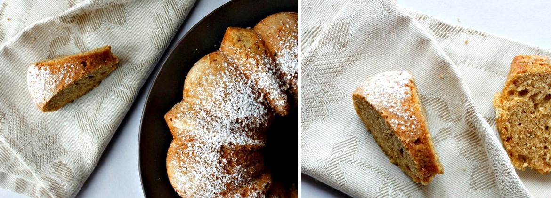 BUNDT CAKE ARANCIA E NOCCIOLE