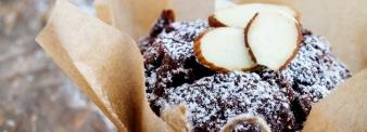 Vegan cocoa muffins