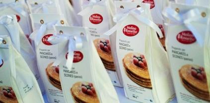 Pancakes Molino Rossetto per gli invitati