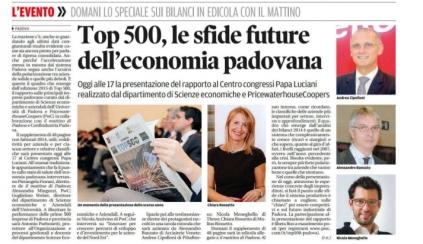 Molino Rossetto tra le TOP 500 di Padova