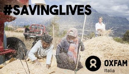 #SavingLives con Oxfam Italia