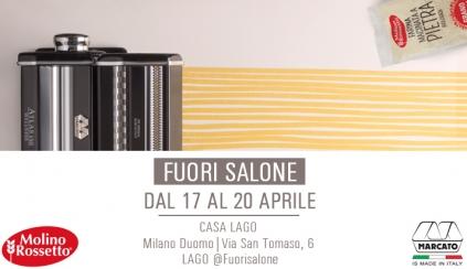 Molino Rossetto al Fuori Salone di Milano